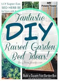 11 fantastic diy raised garden bed ideas busybeingjennifer com