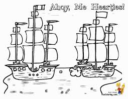 Pirate Ship Coloring Page Wonderful - brmcdigitaldownloads.com