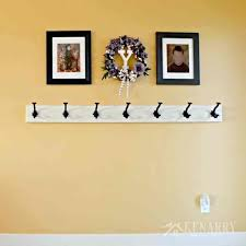 How To Mount A Coat Rack On The Wall Beauteous Diy Coat Rack Wall Zversoftware