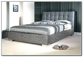 Upholstered Bed Frame King Quilted Bed Frame Upholstered King Bed ...