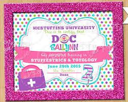 doc mcstuffins inspired diploma doc mcstuffins party signs doc mcstuffins diploma doc mcstuffins party signs doc mcstuffins birthday printables
