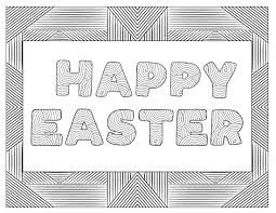 Geometric Easter Egg Coloring Pages With Free Printable Sheets Paper