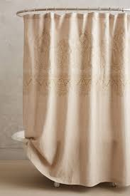 embroidered linen shower curtain 79 95 anthropologie com