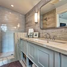 contemporary rustic bathrooms. Simple Bathrooms Rustic Meets Contemporary Master Bathroom On Bathrooms O