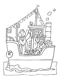 Sinterklaas Vind En Print Bliksemsnel Een Kleurplaat Ukkonl