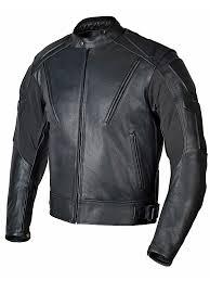 men premium leather motorcycle jacket old school classic style black mbj07