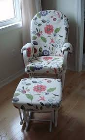 how to make a slip cover for a nursery glider which just might make this chair able to stay in our home a bit longer