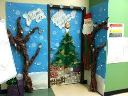 christmas office door decorating. Door Decorating Christmas Office
