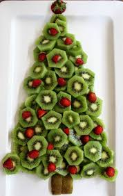 fruit christmas tree. Plain Christmas Believe Me Neither Platter Will Last Long Once They Hit The Party Table  Kiwi Fruit And Strawberry Christmas Tree Platter Intended