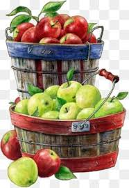 green and red apples in basket. apple box, fruit basket, green apple, red png image and apples in basket