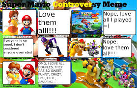 Super Mario Controversy Meme by PrincesaDaisy1242 on DeviantArt via Relatably.com