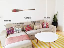 decorating with floor pillows. Bedroom Living Room Design Using Kilim Pillows Plus Cozy Sofa And Make Your More Comfortable With Decorating Floor E