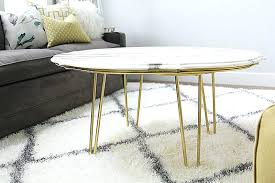 marble coffee table low round