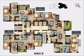 High Quality Mantri Centrium Wing B Floor Plans 3 4 Bedroom Apartments Bangalore.