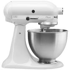 kitchenaid clic 4 5 quart stand mixer white k45sswh