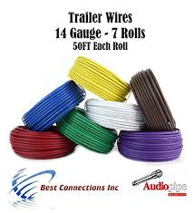 best 20 trailer light wiring ideas on pinterest rv led lights Trailer Wiring Harness Walmart trailer light cable wiring harness 50ft spools 14 gauge 7 wire 7 colors trailer wiring harness walmart