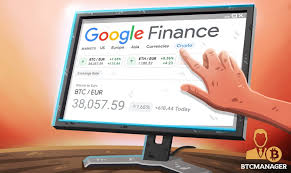 Please open the email we sent you and click on the link to verify your account. Google Finance Now Tracks The Price Of Select Cryptocurrencies Btcmanager