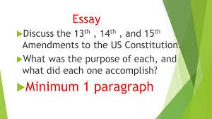chapter reconstruction test review ppt minimum 1 paragraph essay