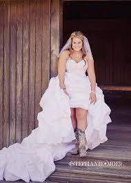 Country Wedding Dress With Cowgirl BootsCountry Wedding Style Dresses