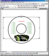 Microsoft Word Cd Templates Computer World Create Your Own Cd And Dvd Labels Using Free