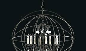 bronze orb light large sphere chandelier cilia light large oiled bronze orb chandelier wire sphere
