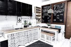 modern black white. plain black 35 desain dapur minimalis sederhana dan modern terbaru 2017  dekor rumah in black white