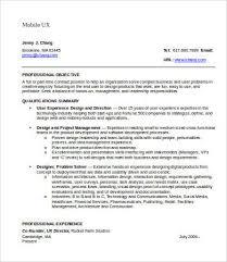 Ux Designer Resume Classy Ux Designer Resume 28 Free Word PDF Documents Download Free