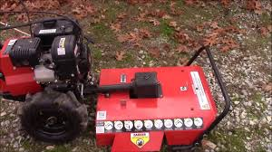 harbor freight brush mower item 61623 review and follow up