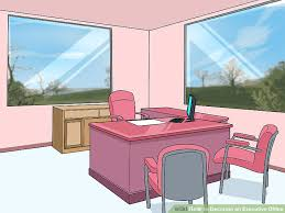 how to decorate office. Beautiful Decorate Image Titled Decorate An Executive Office Step 3 On How To C