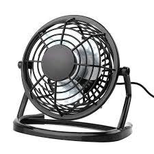 ultra quiet mini 4 inch usb fans plastic portable small desk fan powerful wind for pc