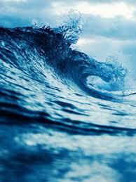 blue ocean waves 4k ultra hd mobile