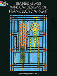 Simple Product Description Glass By Design Books Stained Glass Window Designs Of Frank Lloyd Wright
