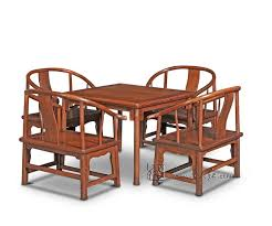 clical dining room furniture set 4 low armchair and 1 square table 5 pieces sets