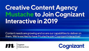 Cognizant New Jersey Cognizant Interactive Adds Creative Agency Mustache