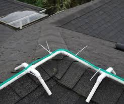 Roof Light Clips Frame For Installing Christmas Rope Lights On Ridgeline Of