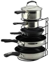 Neat O Pan Rack Organizer Holder For Kitchen Countertop Cabinet