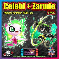 Celebi + zarude 2-Pack | Pokemon Film 2020 Fall | 6iv | Pokemon Schwert  Schild
