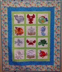 Sea Creature Appliques   children quilt   Pinterest   Sewing ... & Sea Creature Appliques   children quilt   Pinterest   Sewing projects,  Patterns and Craft Adamdwight.com