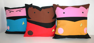 star trek pillow covers