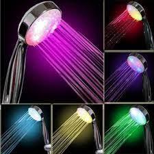 7 color led light bright bath home