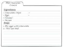 Index Card Recipe Template 5 X 7 Index Card Template Wsopfreechips Co