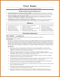 5 Hr Resumes Samples Emt Resume