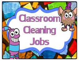 Cleanliness Chart For School Classroom Cleaning Chart