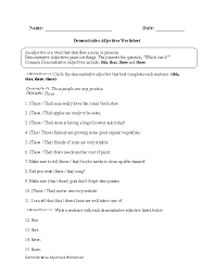 Adjectives And Articles Worksheet Worksheets for all | Download ...