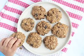 healthy oatmeal raisin cookies lower
