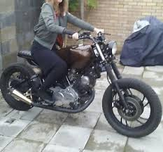 yamaha xv 981 cc cafe racer scrambler bike ebay