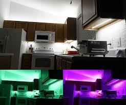 above cabinet and under cabinet led lighting how to install led strip lights