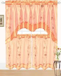 Jc Penneys Kitchen Curtains Orange Curtains Etsy Orange Kitchen Curtains Aromabydesignus