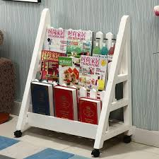 magazine rack office. Magazine Racks Office Furniture Home Commercial Three Size Solid Wood Bookcase Rack Can Customize