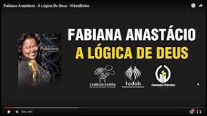 Contact fabiana anastácio on messenger. Fabiana Anastacio A Logica De Deus Lyric Video Youtube
